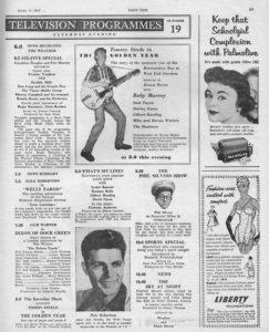 Radio Times, 19-10-1957