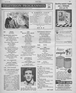 Radio Times, 26-04-1958